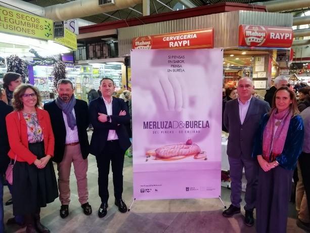 Campaña Merluza de Burela en los mercados tradicionales de Madrid