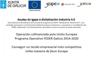 Axudas do Igape á dixitalización da industria 4.0